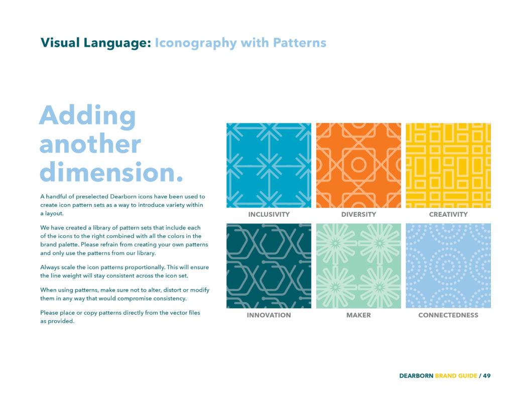 Dearborn Brand patterns
